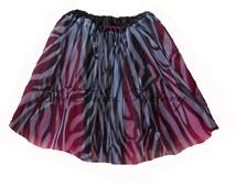 ZEBRA HOTPINK Tutu . XSmall thru XLarge Size Adult Ballet Tutu Skirts