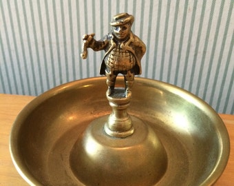 Vintage Brass Ashtray or Dresser Tray