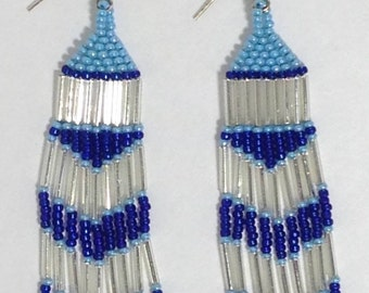 Native American Inspired Beaded Earrings