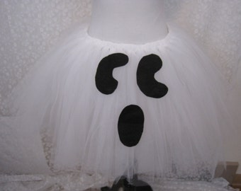 Ghost Adult Tutu, Party Tutu, Halloween Costume,Teen Tutu, Adult Costume, Photo Prop
