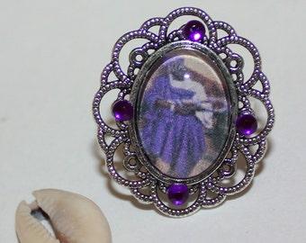 Nana Buruku Adjustable framed picture ring