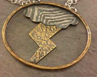 Thunder and Lightning Necklace