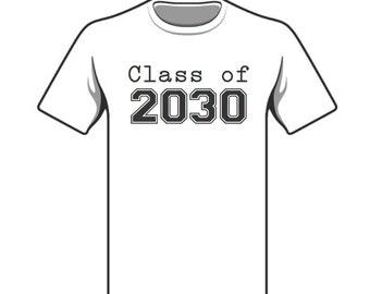 Custom yearly back to school handprint t-shirt