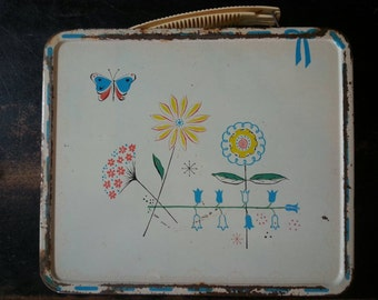 Junior Miss 1950's lunchbox, no thermos.