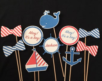 Nautical Themed Photo Booth Props