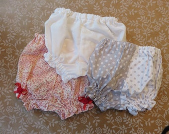 Infant Girls Diaper Covers/Bloomers