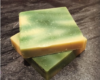 White Tea Mint Handmade Cold Process Soap