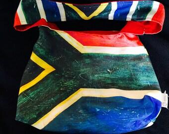 South African Flag Bag