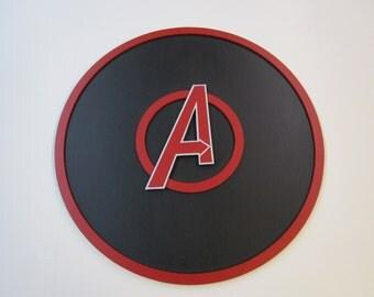 Avengers Symbol 3-D