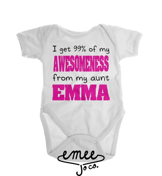 Funny Baby Clothes Aunt Gift Gifts For Aunts I Love My By