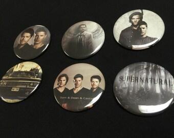 Supernatural 3 Magnet set