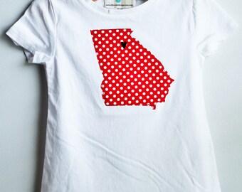 Atlanta, Georgia Hometown Shirt - Atlanta Kid's Shirt - Georgia Kid's Shirt - Hometown Shirt