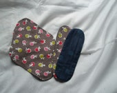 2 pack Ecofriendly Cloth Menstrual Pads (6 pcs) - New Designs by Jaioni