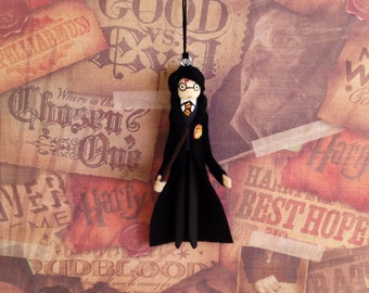 Harry Potter Clothespin Doll Ornament