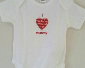 I {love} Mummy or Daddy Romper