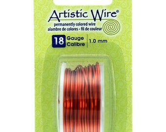Artistic Wire 20 Gauge 12 Various Colors, 12 Count For Crafting ...