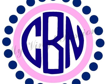Monogram Car Decal Etsy - Custom car decals near me   how to personalize