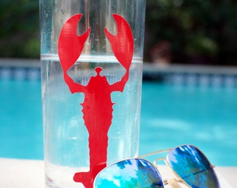 Custom Lobster Tall Tumbler