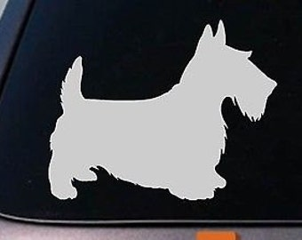 "Scottish Terrier Scotty Scottie Terrier 6"" Decal"