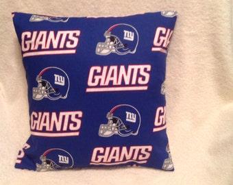 New York Giants Pillow