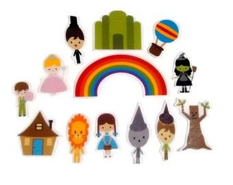 Felt Wizard, flannel board story, felt board story, homeschool, early childhood, imaginative, quiet, montessori, busy book, preschool