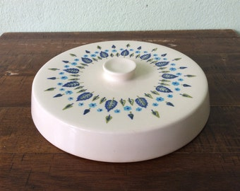Vintage Alpine-Swiss Chalet Marcrest-Stetson lid to the casserole or serving bowl,Alpine-Swiss Replacement Lid, Replacement Casserole Lid
