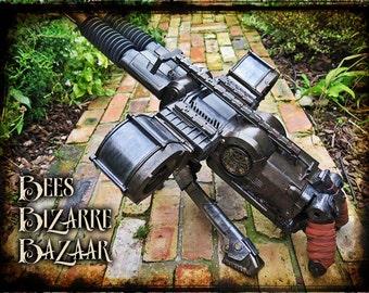 Steampunk Nerf Gun - Machine Gun - Rhino Fire - Cosplay