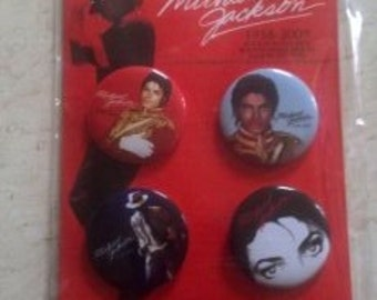 Michael Jackson 1958-2009 button