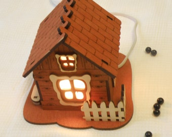 Salt Lamp,  House, Therapeutic electric salt lamp
