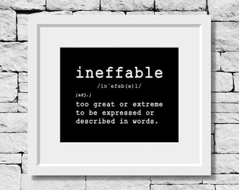 Ineffable Definition, Writing Teacher, Student Writer, Writing Student, English Student, English Teacher, Writing Quote, Writing Poster