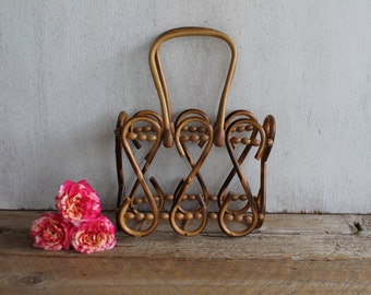 Retro Rattan Napkin Holder