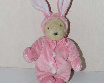 Muffy Vanderbear Pink Bunny Easter 1989