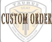Custom Motorcycle Tank Panel