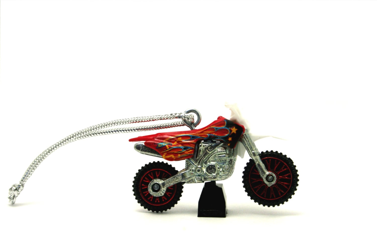 dirt bike hot wheels ornament. Black Bedroom Furniture Sets. Home Design Ideas