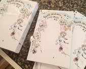 Mike Denison Sketchbook with Custom Art - first printing
