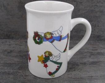 Royal Norfolk Christmas Angels  Mug