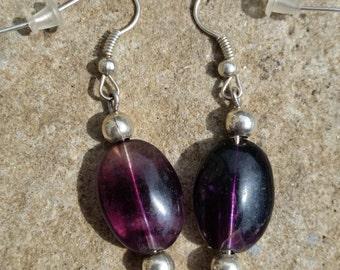 Handmade Genuine Fluorite Earrings