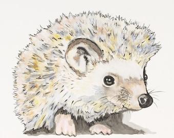 Huck the Hedgehog Print