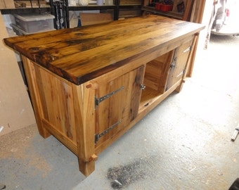 Sideboard made from reclaimed Oak