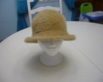 Vintage 70s Brown Furgora Hat