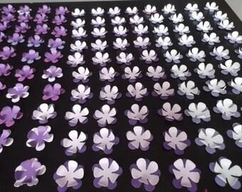 purple shade pop up flowers ( medium size)