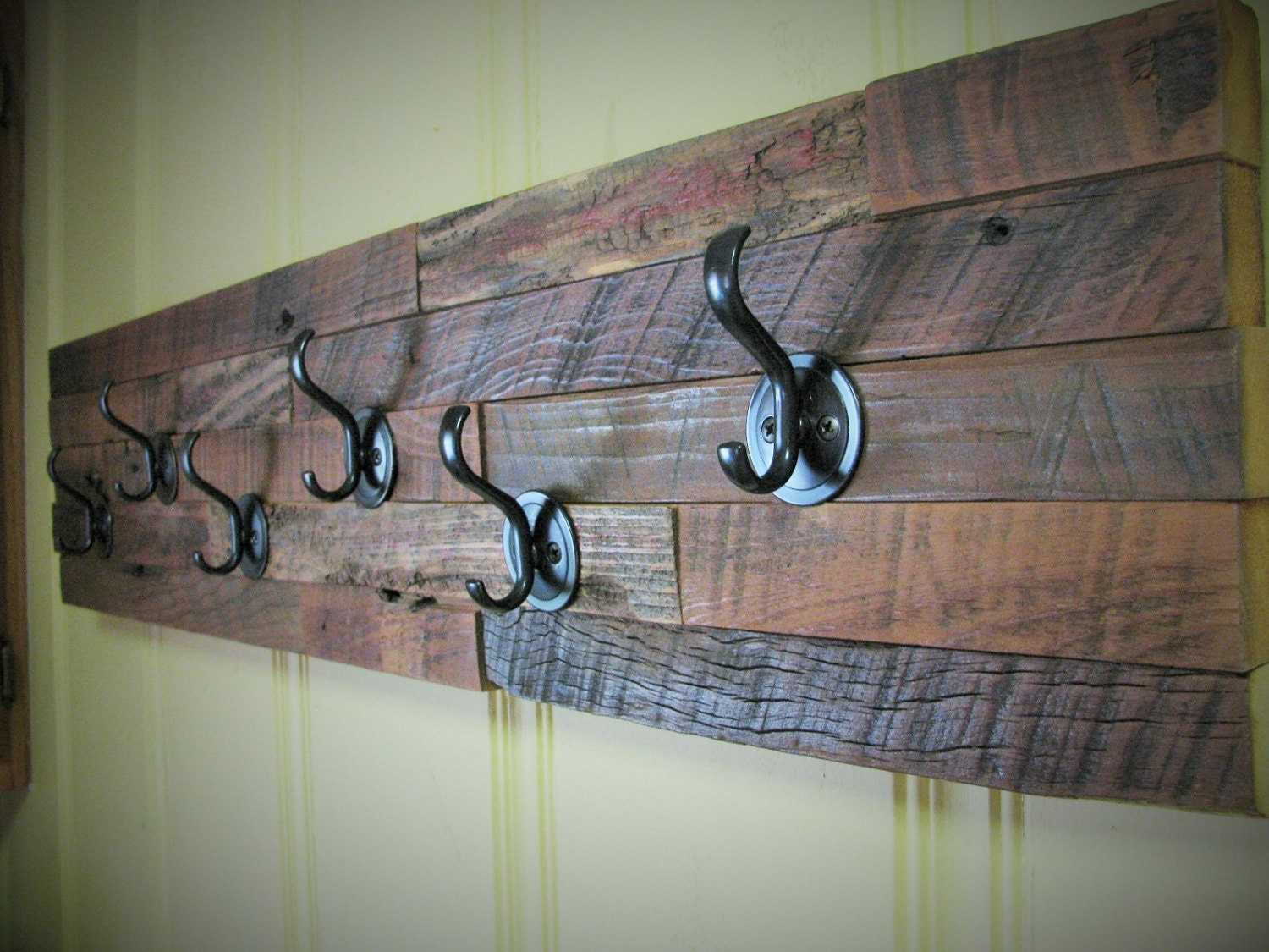 35 Coat Rack Rustic Coat Rack Repurposed Barn Wood By Rustastic. Full resolution‎  snapshot, nominally Width 1500 Height 1125 pixels, snapshot with #4E637D.
