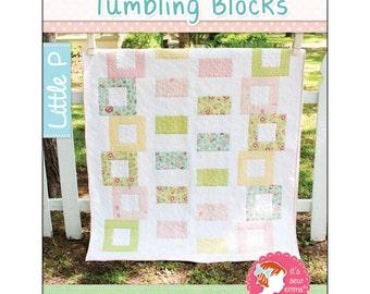 Pattern - Tumbling Blocks by It's Sew Emma - Quilt pattern