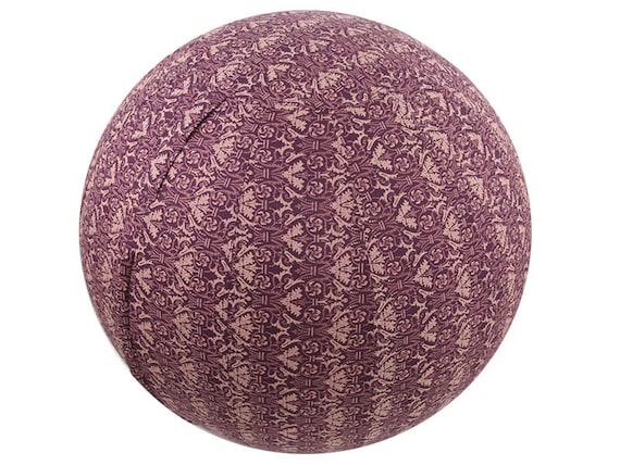 housse de ballon exercice 65cm boule de yoga couverture