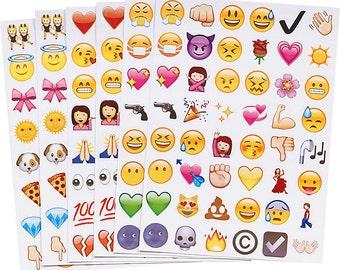 Emoji Stickers Pack of 288 Cool Stickers