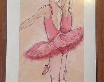 Ballerinas print