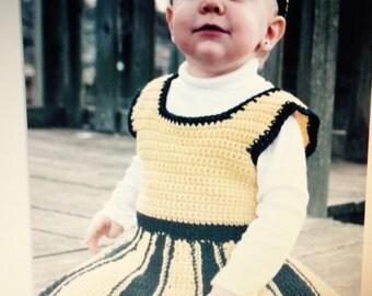Baby Cheerleader Dress with matching headband