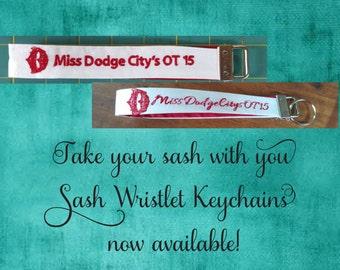 Sash Wristlet Keychain