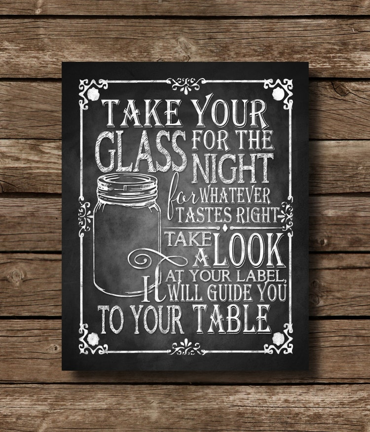 Take Your Glass For The Night For Whatever By