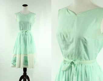 50s Seafoam Dream Dress